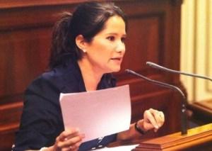 Aurora del Rosario, portavoz de Empleo del PP en el Parlamento de Canarias