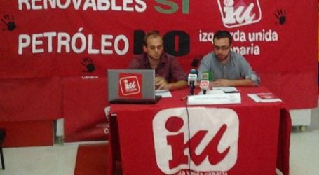 IUC de San Bartolome de Tirajana recuerda su trabajo contra las prospecciones