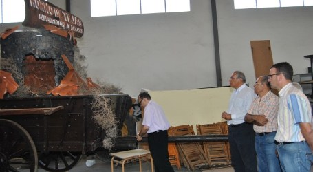 El horno de tejas de Tirajana motivo de la carreta del municipio en El Pino 2013