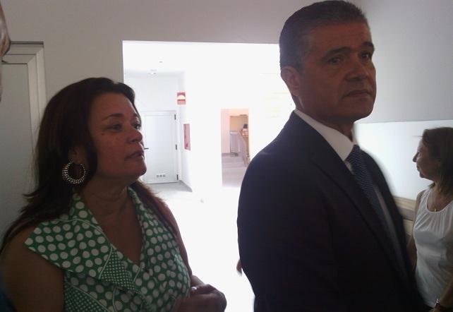 Francisco González y Carmen Hernández Afonso