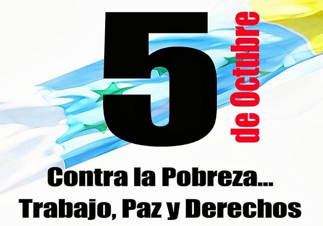 Manifestación 5-O, en Las Palmas de Gran Canaria