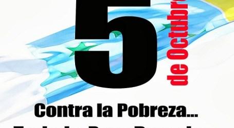 IUC y el MxFA invitan a manifestarse contra la pobreza el 5 de octubre