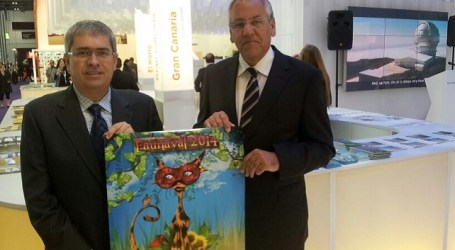 Maspalomas da a conocer su Carnaval en la World Travel Market de Londres