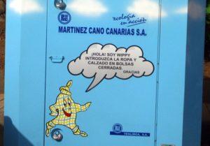 Modelo de contenedor instalado por Martínez Cano en municipios de Gran Canaria