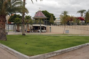 Kiosco del parque de San Fernando de Maspalomas