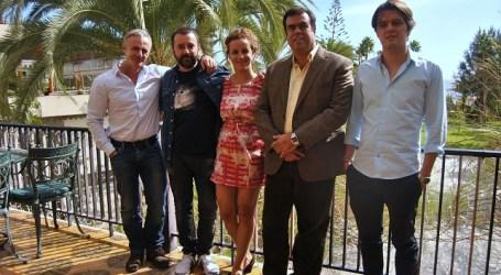 Félix Sabroso y Dunia Ayoso ruedan en San Bartolomé de Tirajana su primer cortometraje