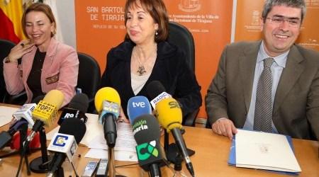 El alcalde de San Bartolomé de Tirajana no cantó la Internacional en Maspalomas