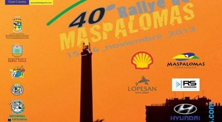 El 40 Rallye de Maspalomas obliga al Ayuntamiento a cerrar varias calles