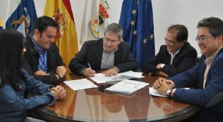 Dos empresas embellecerán y nominarán cuatro rotondas de San Bartolomé de Tirajana