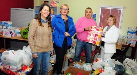 El Ayuntamiento de San Bartolomé de Tirajana entregó a Elomar las donaciones solidarias