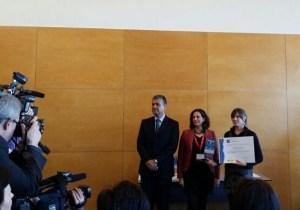 EEntrega de premios Sicted 2013, en Fitur 2014