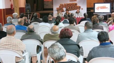 Santa Lucía propone en asambleas un mayor compromiso ciudadano ante la crisis
