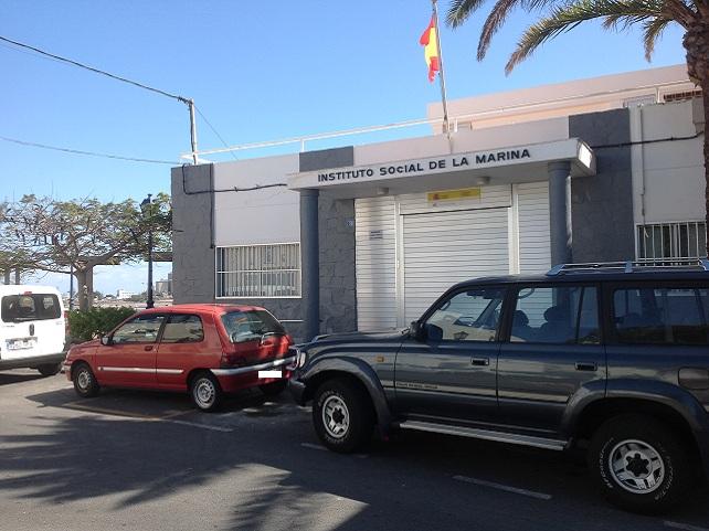 Instituto Social de la Marina, en Arguineguín (foto: Ciuca-NC de Mogán)