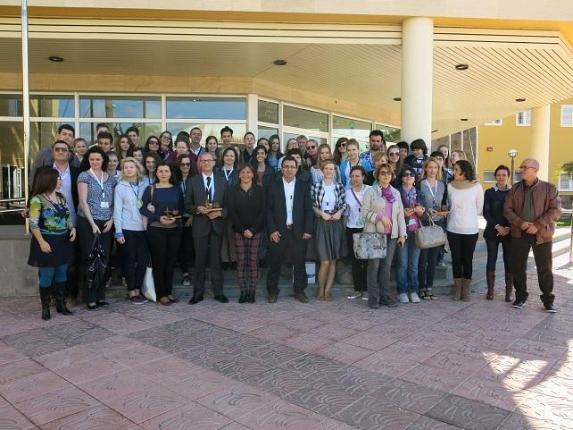Delegación europea del Comenius en el IES Vecidario