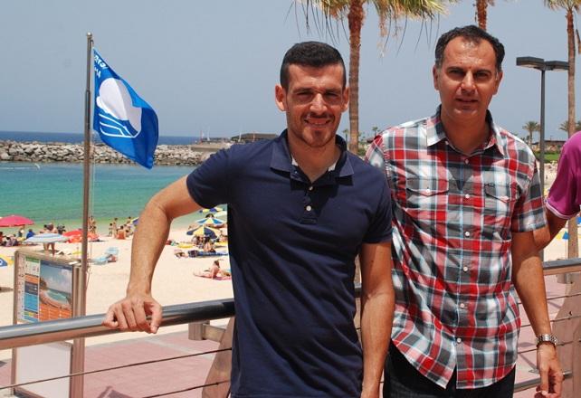 Tomás Lorenzo (derecha) y Yordi Afonso