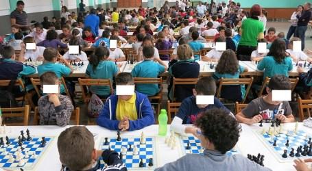 Más de 250 chavales participan en el Torneo Escolar de Ajedrez de Santa Lucía