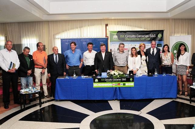 Presentación del XVI Circuito Canarias S&G - Maspalomas Golf Cup
