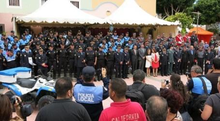 Santa Lucía acoge el Día de la Policía Canaria con premio para la Unidad de Atestados local