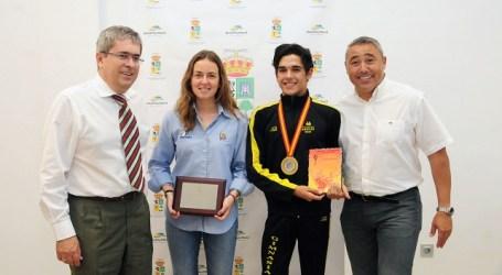 San Bartolomé de Tirajana reconoce los méritos de otros dos jóvenes deportistas