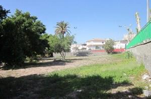 Aldea Blanca, terreno para parque público