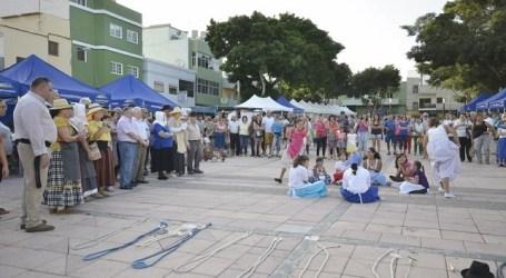 La Feria de la Zafra mantiene vivo el origen agrícola del sur grancanario