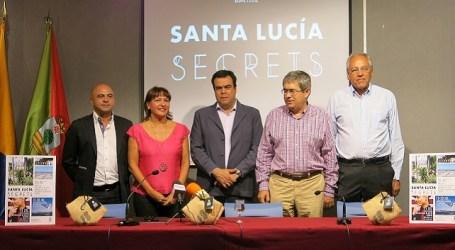 """Santa Lucía promociona sus """"secretos"""" en San Bartolomé"""