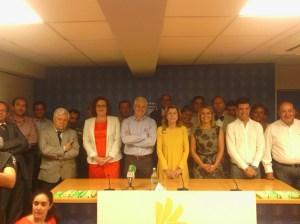 Nardy Barrios, arropada por el Comité Ejecutivo de Compromiso por Gran Canaria