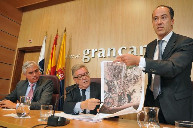 BIC Oasis Maspalomas, presentación en el Cabildo de Gran Canaria