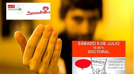 """""""Kedada"""" de los socialistas santaluceños en el Doctoral"""