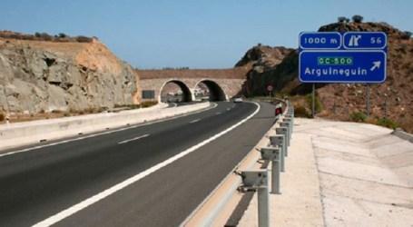 El Cabildo asume el mantenimiento de las zonas verdes de la carretera del sur