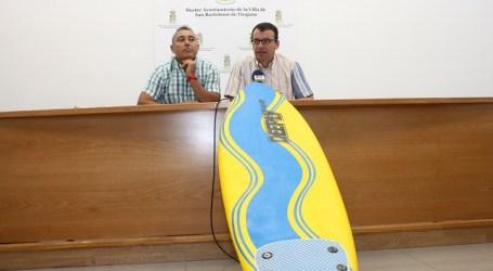 Maspalomas organiza la 4ª jornada de iniciación a los deportes marítimos