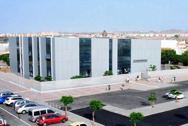 Oficinas del Ayuntamiento de San Bartolomé de Tirajana, en Maspalomas