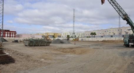 Las obras del Parque Multifuncional de Maspalomas se terminarán en unos ocho meses