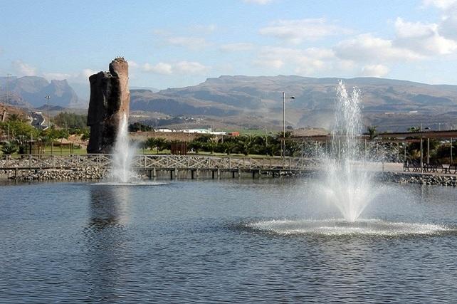 Parque Urbano del Sur, en Maspalomas