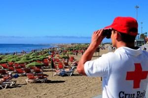 Cruz Roja, en Playa del Inglés