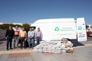 Canarias Recycling, ropa usada
