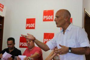 Julio Ojeda Medina, secretario general del PSC-PSOE de Santa Lucía