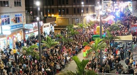 La Avenida de Canarias vuelve a ser centro urbano de referencia en Santa Lucía