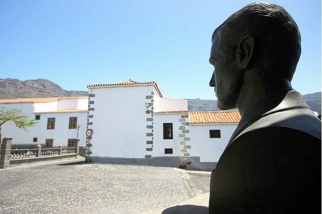 Pancho Guerra, en la Villa de San Bartolomé de Tirajana