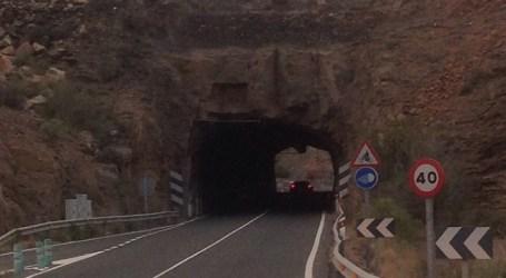Ciuca Mogán reclama el alumbrado en los túneles de Los Frailes y Medio Almud