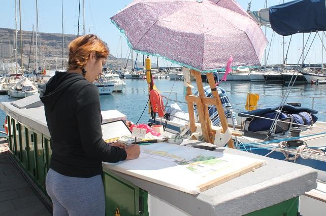 Certamen de Pintura Puerto de Mogán