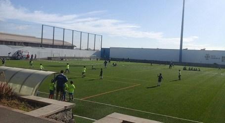 Concentración de escuelas de fútbol base en Castillo del Romeral