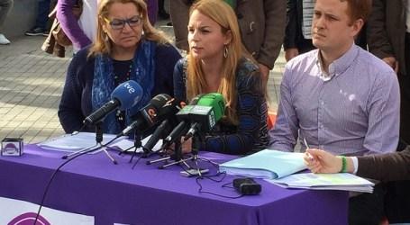 Dunia Hernández abandona Podemos decepcionada y desilusionada