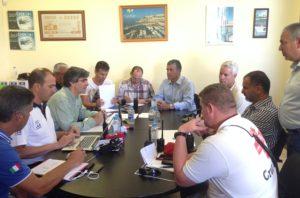 Hundimiento del Oleg Naydenov, plan de emergencias en Mogán