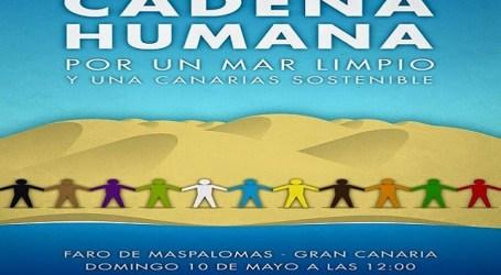 Colectivos ecologistas y ciudadanos convocan una Cadena Humana en Maspalomas