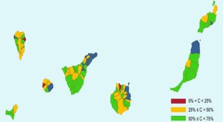 Canarias supera la media nacional en telefonía móvil de cuarta generación