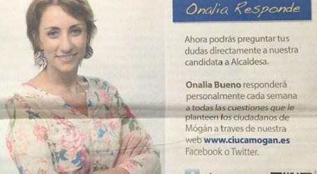 """Comparecencia de la alcaldesa: """"Onalia Bueno no responde, se esconde"""""""