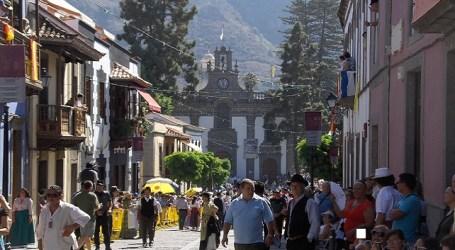San Bartolomé de Tirajana ocupa el puesto 14 en la romería ofrenda del Pino