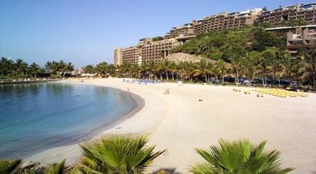 La arena de Anfi del Mar acoge el I Torneo de Voley Playa Mixto