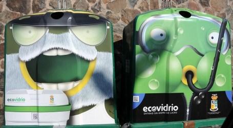 Los nuevos contenedores de vidrio invitan a reciclar con motivos infantiles